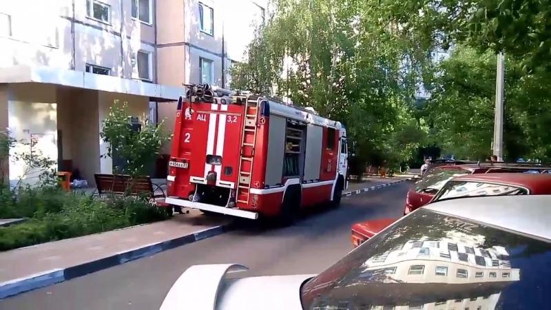 Наркоманский пожар в Белгороде Ул Спортивная