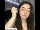 Потрясающая Оксана даёт урок макияжа @ make_up_oksi ・・・ Матовый Смоки 🌚 сияющая кожа⭐️ сияющие губы ⭐️ ✔️ База Radiance Skin о