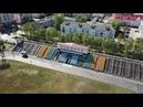 Высота 500 метров. Обзор окрестностей Архангельска со стадиона Динамо