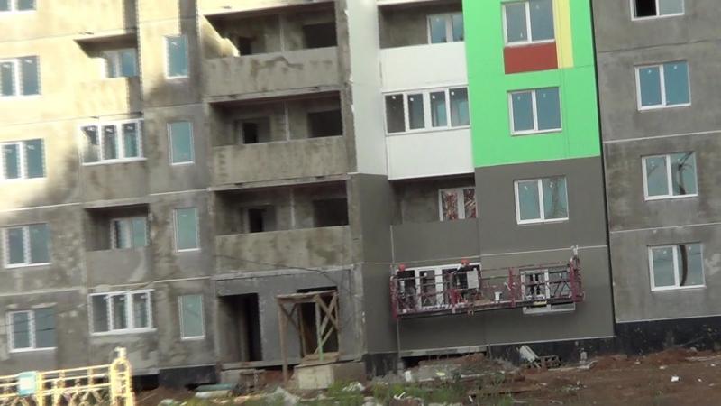 Видео съемка строительных работ ЖК Акварель Оренбург 17.06.2018 часть 10
