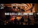 Paris preselections Hip hop final Niako Icee vs Sam Jimmy Yudat