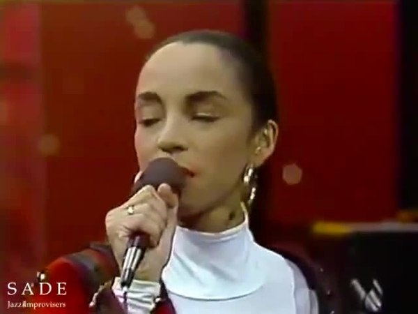 Sade Adu.. Graceful, sensual, smooth, pure voice, and red lips... Videoclip ...