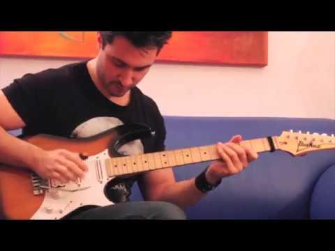 Prince Purple Rain Guitar Solo Cover | Ignazio Di Salvo - Ibanez AT100 Andy Timmons