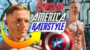 CAPTAIN AMERICA Inspired Hairstyle Best Avengers Haircut 2018
