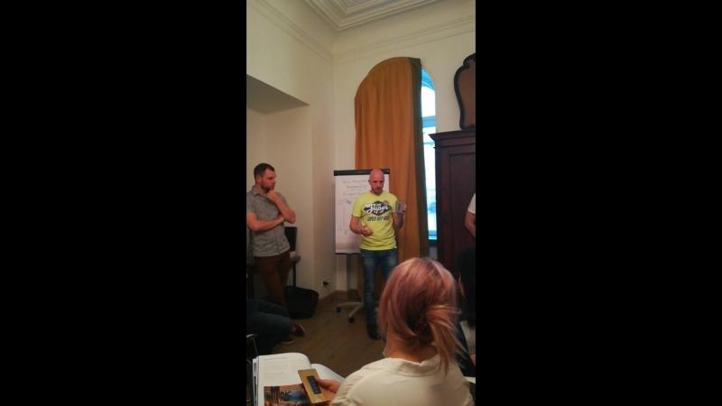 X-Control - встреча с дизайнерами 12.07.18
