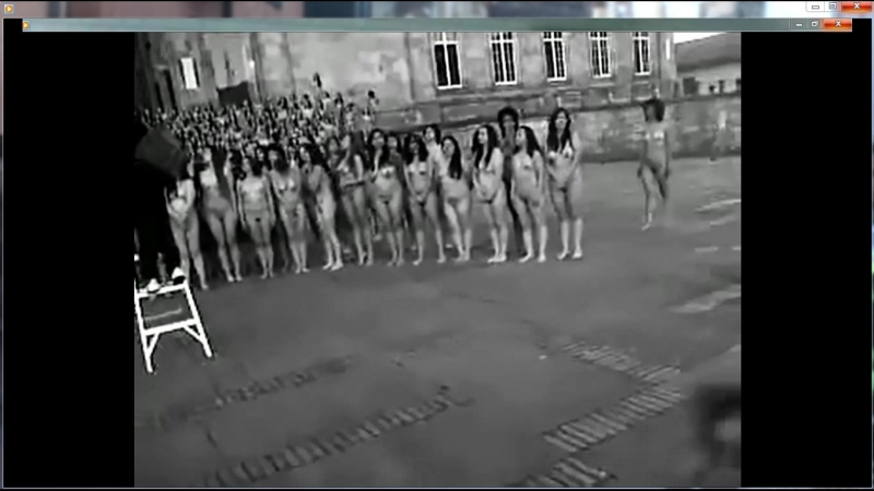 Naked Women in The Street of Bogota Colombia - Part 2