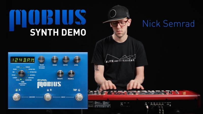 Strymon Mobius Modulation - Nick Semrad - keyboard/synth demo