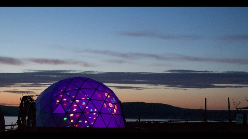 Как построить круглый дом, сферу, геодезический купол ДЕШЕВО