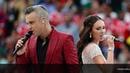 Robbie Williams - Angels ft. Aida Garifullina HQ - Live at Moscow 2018 -