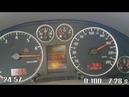 Audi A6 C5 3.0 ASN Quattro 0-100-200 sedan manual transmission