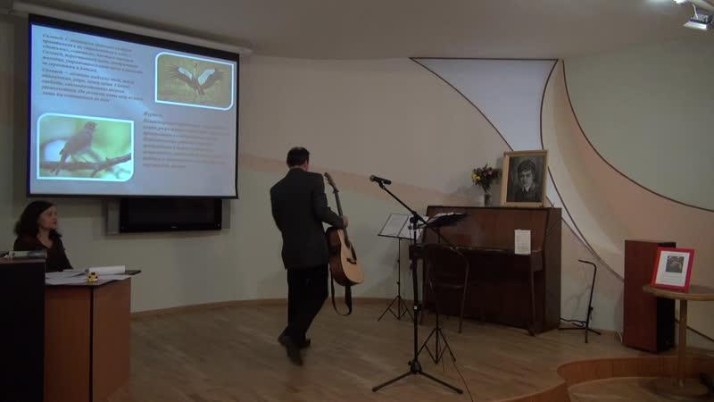 Отговорила роща золотая исп. Евгений Карунин