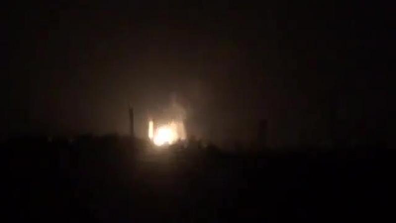 Взрыв на газораспределительной станции ДНР