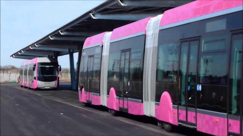 Présentation Van Hool Exquicity 24 Hybride au CDEM LE MET' - JPO