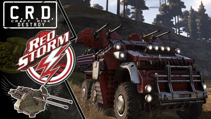Crossout: [ cyclone x2 ] RED STORM [ver. 0.9.120]