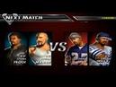 Def Jam Vendetta 49. Manny x Proof vs Method Man x Redman (Team Tournament)