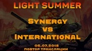 International vs Synergy Light Summer финал верхней сетки. 05.07.2018