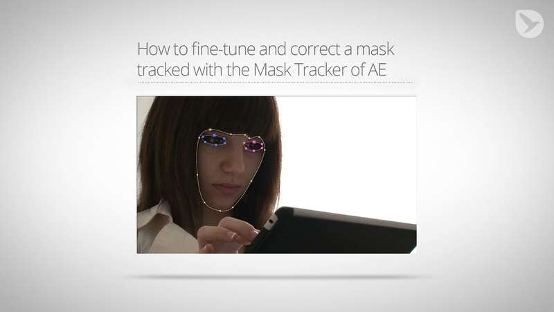 How to refine and correct a mask tracked with the Mask Tracker of After Effects