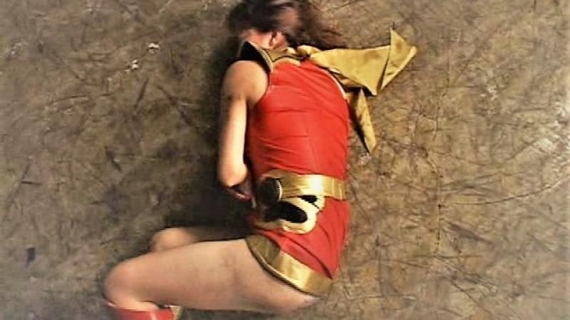 Superheroine Belly Punch - Vomit 2