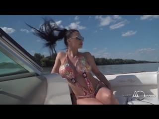 Aletta Ocean / Summer Heat / Brunette Big Fake Tits Big Ass HD
