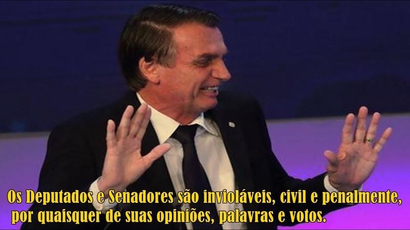 Urgente! STF rejeita denúncia de racismo contra Jair Bolsonaro (11/09/2018)