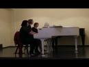 А. Цыганков, Тустеп - исп. фортепианное трио Трилистник (Е. Щенникова, Н. Подшивалова, К. Видрих)