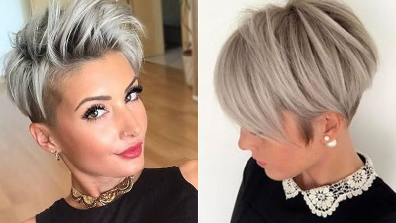 Winter 2018 / 2019 Haircut Trends - Bobs, Pixie Cuts More!