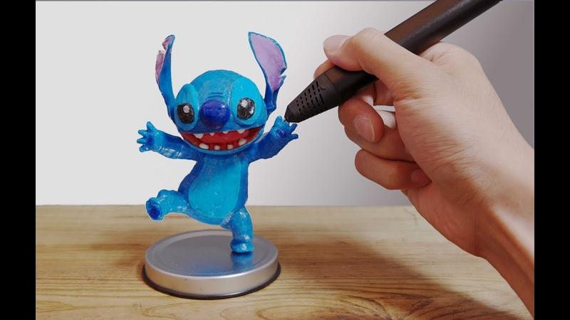 3D Pen   Making a Stitch   3D펜 스티치 제작