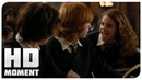 Рон позвал Гермиону на бал - Гарри Поттер и Кубок огня (2005) - Момент из фильма
