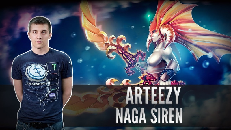 Arteezy (Naga Siren) - TEAMERINO TINKERINO vs. EG @ ASUS ROG DreamLeague Season 2