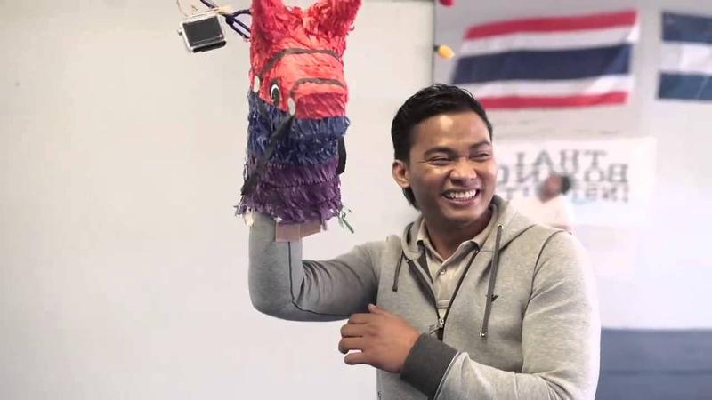 Tony Jaa Thai Boxing Institute in Los Angeles (2015)