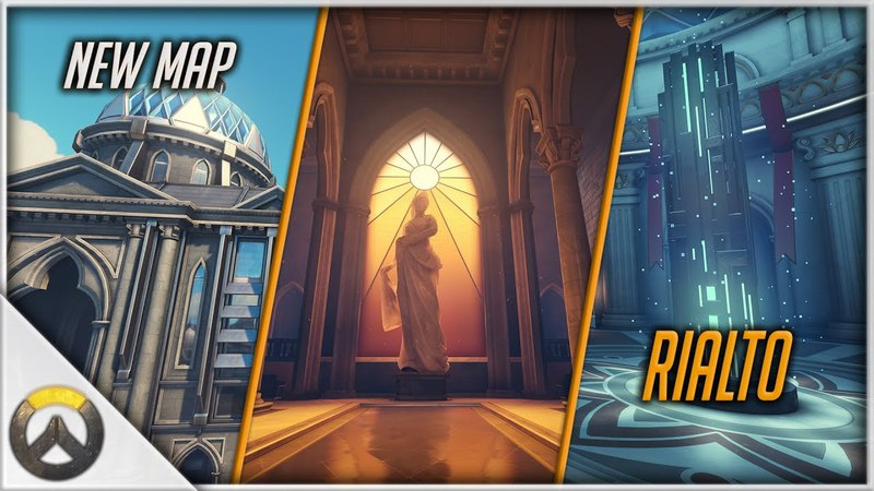 Overwatch New Map Rialto Experiments, Map Mechanics Payload Interactions