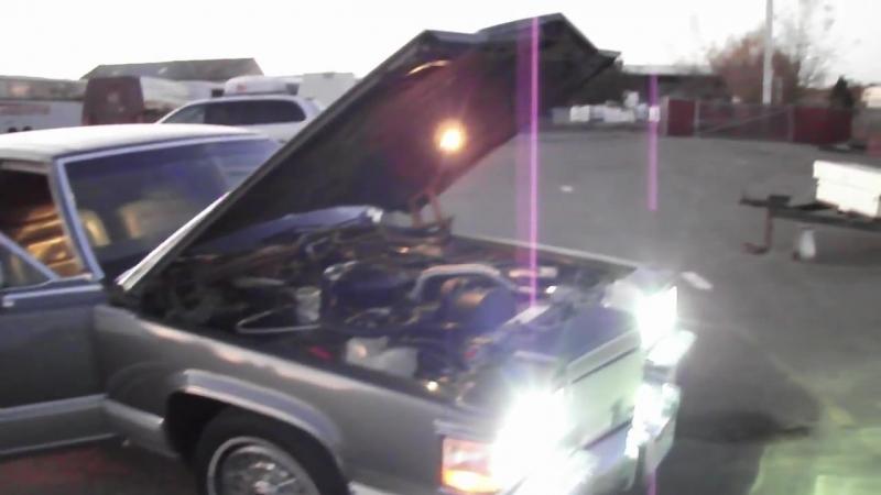 1990 Cadillac Brougham Custom Built 6.0 Liter V8 (BurnOut at the end)