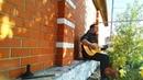 """Смолин Максим on Instagram: """"Моя первая гитара, попалась под руку ! Играть практически не возможно, но для блюза самое то ! 😅😅😅 guitarlesson guit..."""