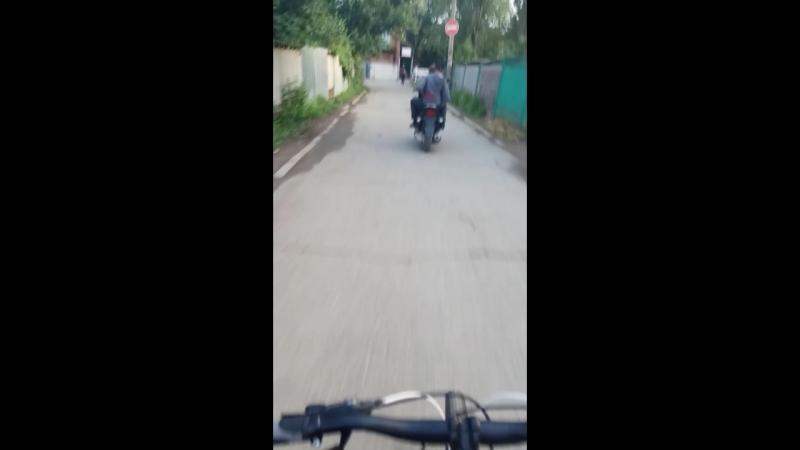 Громкий скутер)