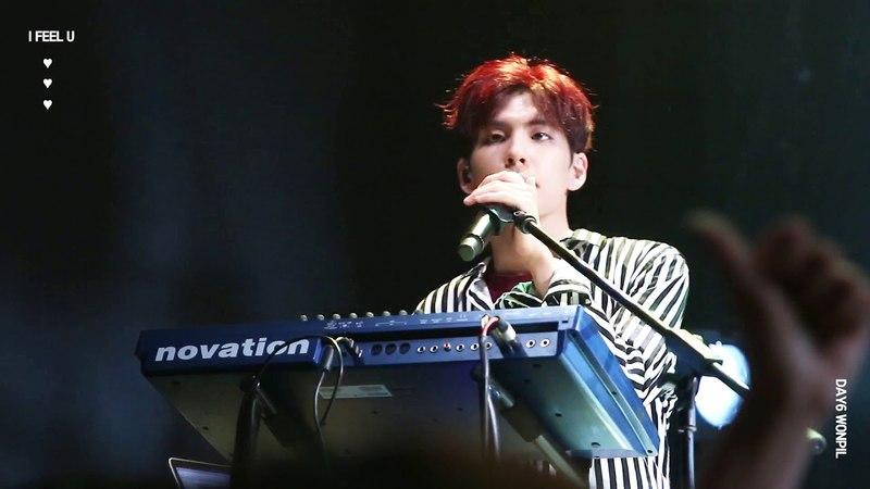 [180525] Day6 - Hunt @live club day (Wonpil focus)