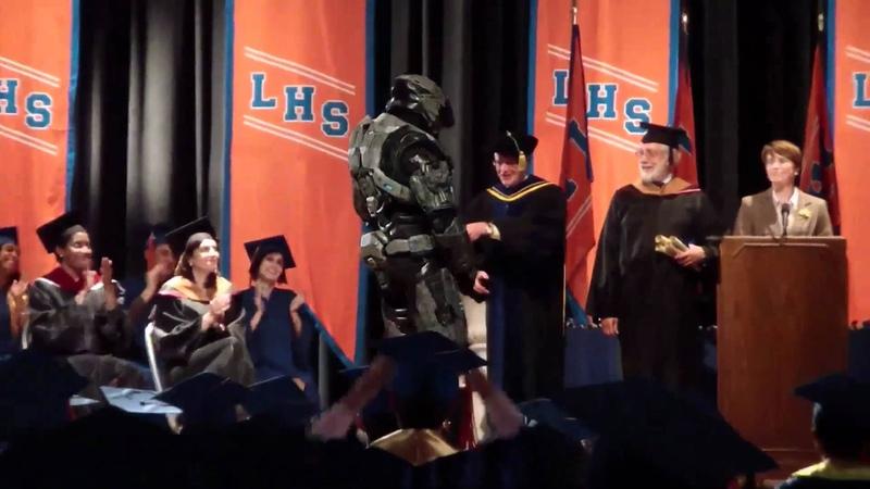 Halo Spartan Graduates High School