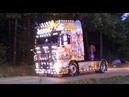 Master Truck Opole Poland Truckshow 2018 with Scania V8 open pipes sound