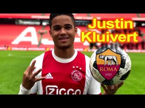 JUSTIN KLUIVERT Welcome to AS ROMA
