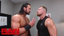 Is Seth Rollins trying to recruit Drew McIntyre into The Shield Raw Sept 24 2018
