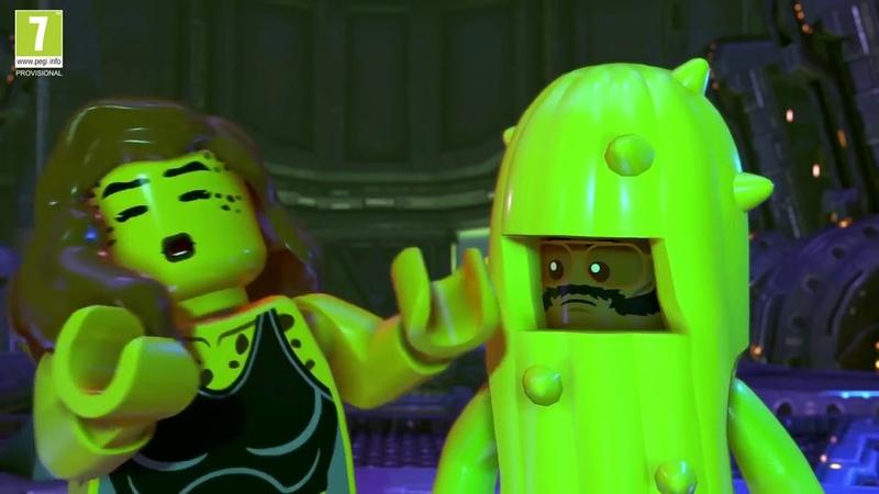 LEGO DC Super Villains San Diego Comic Con Trailer 2018 PS4 Xbox One Swit игртрейлер