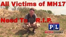 MH17 Call to Action All Remains Need To Go Home R.I.P.