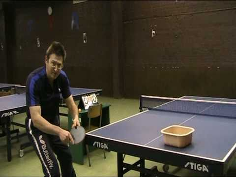 Table tennis tips-table tennis techniques- forehand top spin loop