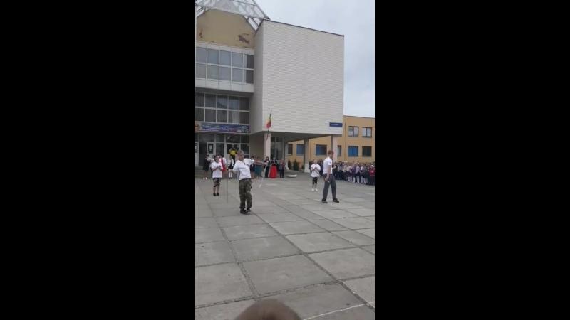 ЗУБР в МБОУ СОШ военвед