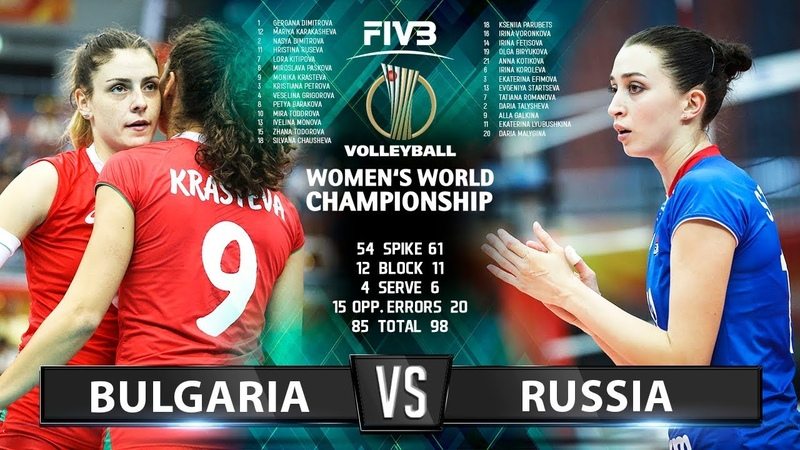 Bulgaria vs Russia - Highlights | Womens World Championship 2018