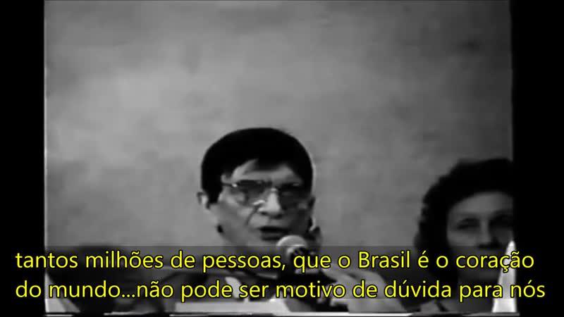 Chico Xavier no Grupo Perseverança de São Paulo faz alertas proféticos sobre a missão do Brasil Portal Saber Espiritismo Gru