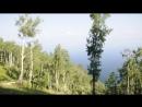 поднимаемся на горный хребет вблизи станции Маритуй КБЖД