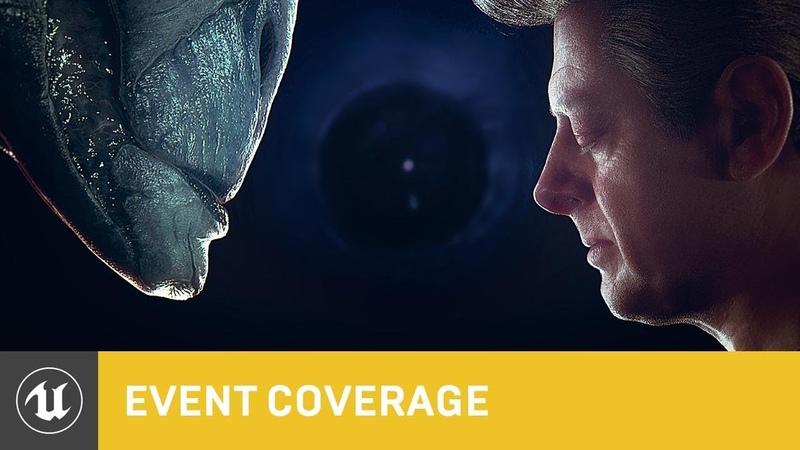 Andy Serkis Digital Human Osiris Black Blended Performance SIGGRAPH 2018 Unreal Engine