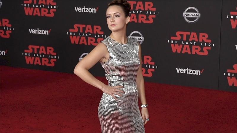 Billie Lourd Star Wars: The Last Jedi World Premiere Red Carpet