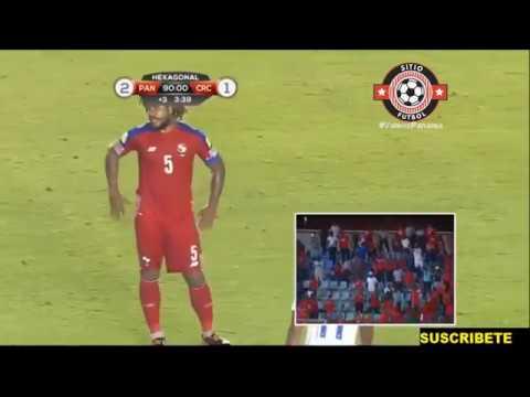IMPRESIONANTE RELATO Panamá Vs Costa Rica 2 1 Eliminatoria CONCACAF 2017 Goles y Resumen