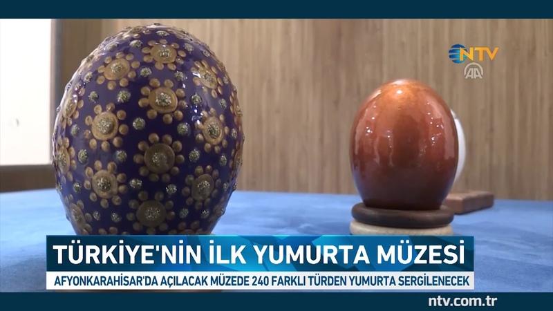Türkiye'nin ilk yumurta müzesi Afyonkarahisar'da açılıyor